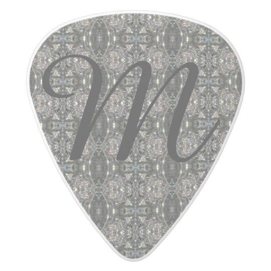 Púa De Guitarra Delrin Blanco HAMbyWG - imágenes de la guitarra - imagen del