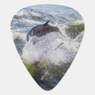 Púa De Guitarra El salto de Delfina