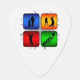 Púa De Guitarra Estilo urbano del golf asombroso
