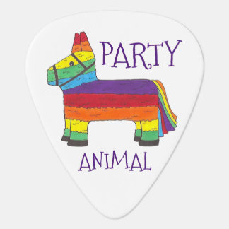 Púa De Guitarra Fiesta del cumpleaños de Piñata del burro del arco