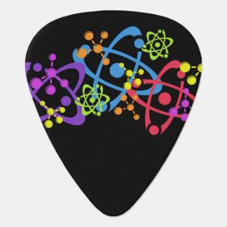 Púa de guitarra, friki, ciencia nuclear uñeta de guitarra
