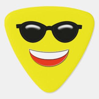 Púa De Guitarra Gafas de sol frescas Emoji
