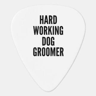 Púa De Guitarra Groomer duro del perro de trabajo