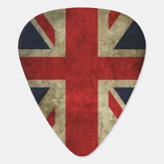 Púa De Guitarra Grunge de Union Jack