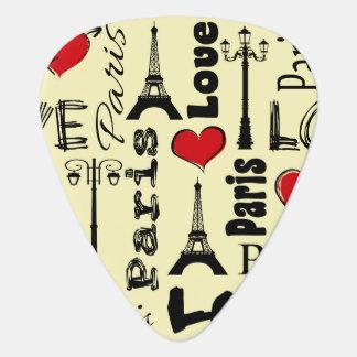 Púa De Guitarra París