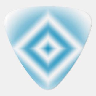 Púa De Guitarra pendiente azul del diamante del Personalizar-cielo