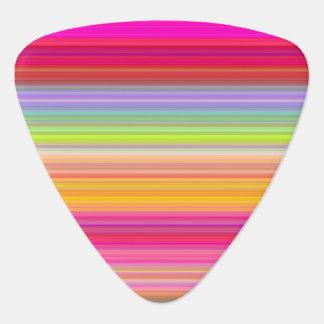 Púa De Guitarra Personalice - el fondo multicolor de la pendiente