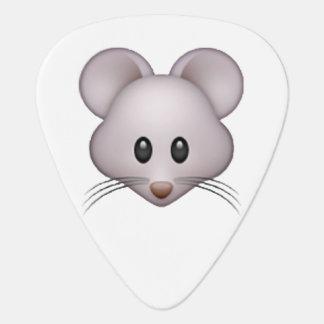 Púa De Guitarra Ratón - Emoji