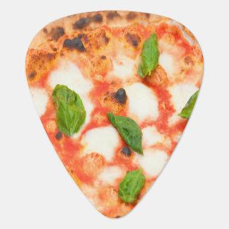 Púa De Guitarra rebanada italiana divertida de la pizza del