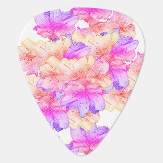 Púa De Guitarra Reserva rosada del ejemplo de la flor de