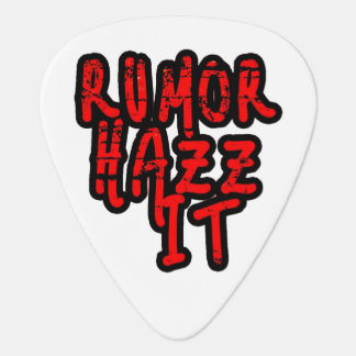 Púa De Guitarra Rumor Hazz él