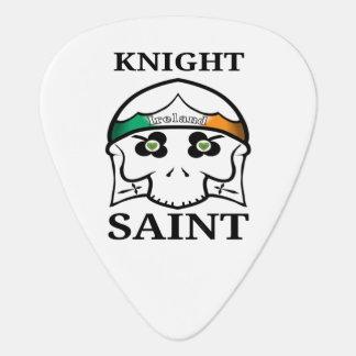 Púa De Guitarra Santo del caballero del día de Irlanda St Patrick