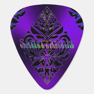 Púa de guitarra tribal del zodiaco del sagitario