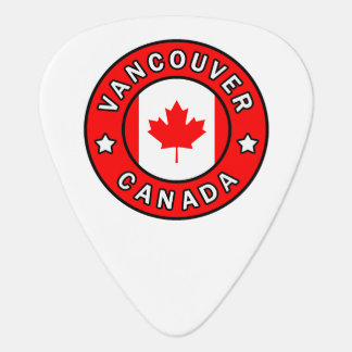 Púa De Guitarra Vancouver Canadá