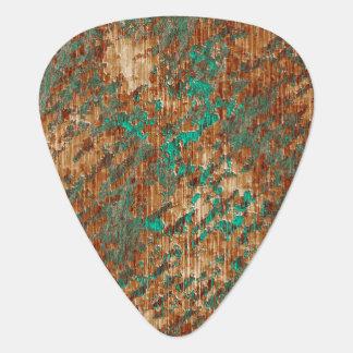 Púa De Guitarra Verde y modelo abigarrado extracto del Grunge del