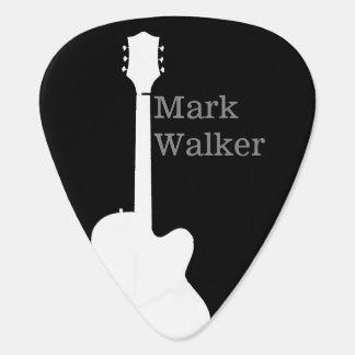 púas de guitarra de encargo para el guitarrista