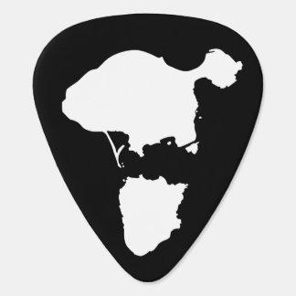 Púas de guitarra de la isla de Gotts - negro