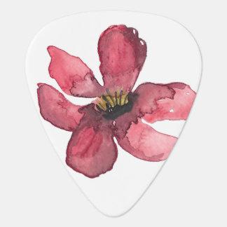 Púas de guitarra de ruborización de la flor del púa de guitarra