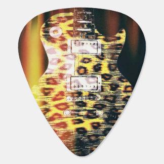 Púas de guitarra del guepardo púa de guitarra