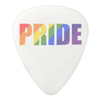Púas de guitarra del orgullo del arco iris