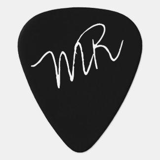 púas de guitarra personalizadas para el guitarman