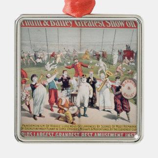 Publicidad de poster el Barnum Ornatos