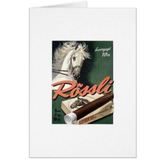 Publicidad del vintage tarjeta de felicitación