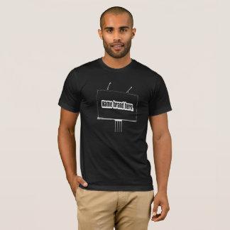 Publicidad que camina camiseta
