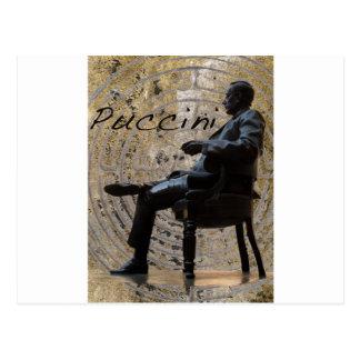 Puccini_Statue_Lucca1 Postal