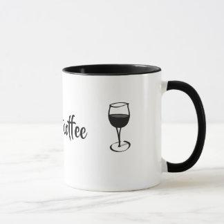 Pudo ser no la taza del vino del café