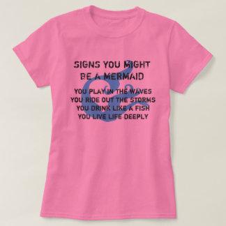 Pudo ser una camiseta de la sirena