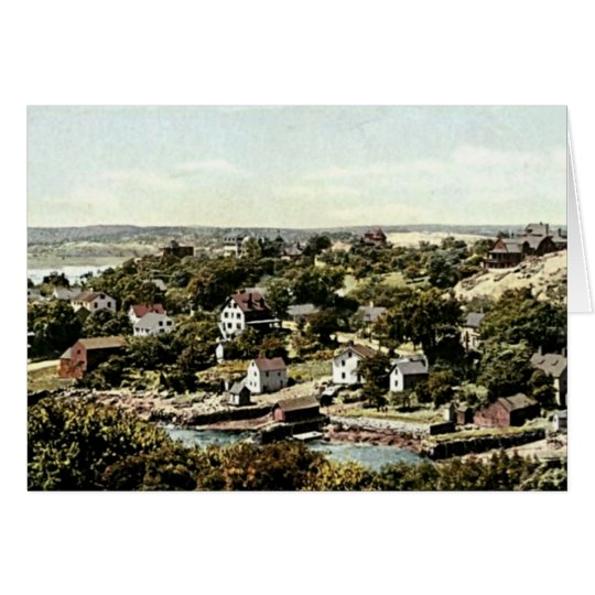 Pueblo de Annisquam, Gloucester, Massachusetts Tarjeta De Felicitación