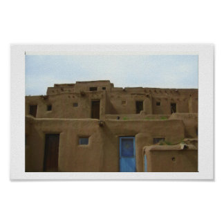 Pueblo de Taos Póster