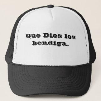 puede DIOS bendecirle (español). Gorra De Camionero