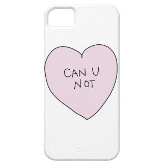 Puede el corazón de U no Funda Para iPhone SE/5/5s
