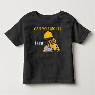 ¿Puede usted cavarlo? Camisa del cumpleaños de la