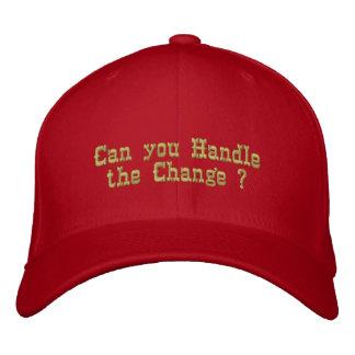 ¡Puede usted!! Gorra _Embroidered Gorra De Beisbol Bordada