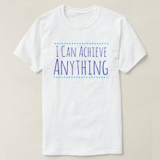 Puedo alcanzar cualquier cosa camisa para hombre