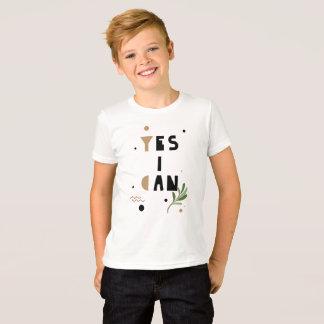 Puedo camiseta crecer sí las actitudes positivas