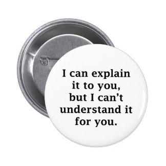 Puedo explicarlo a usted pins