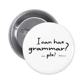 ¿Puedo gramática de Haz? Pins