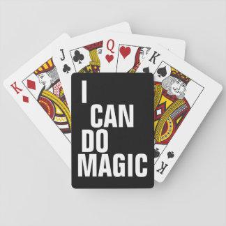 Puedo hacer magia baraja de cartas