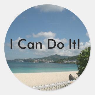 ¡Puedo hacerlo! Pegatina Redonda