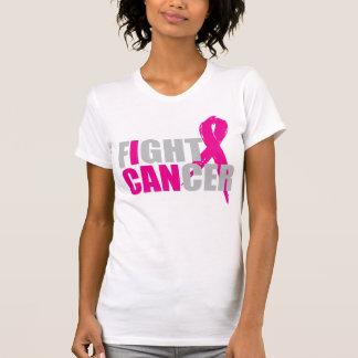 Puedo luchar la camiseta del cáncer de pecho