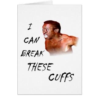 Puedo romper estos puños tarjeta