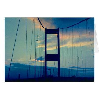 Puente a Inglaterra (los años 70) Tarjetón