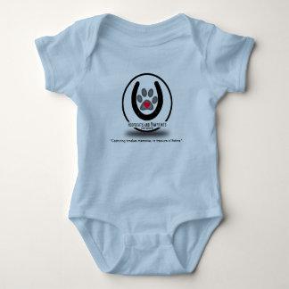 Puente ápodo del bebé del logotipo de Hoofbeats y Body Para Bebé