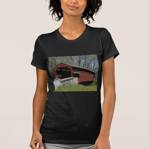 Puente cubierto 1856 camisetas