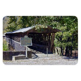 """Puente cubierto 4"""" de Clarkson-Legg x 6"""" imán de Imán Flexible"""