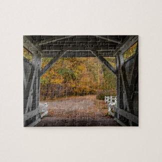 Puente cubierto del camino de Everatt Puzzle